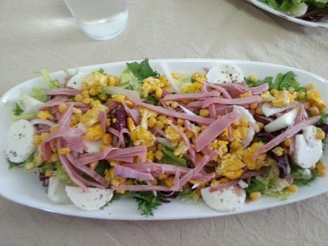 Me encantan las ensaladas ya sean como plato único o acompañando a cualquier otro plato     Y es que aunque ya nos queda poco de este m...
