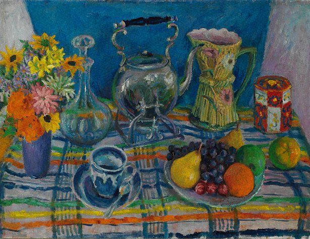 Margaret Olley Still life with kettle (1955)