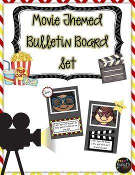 MOVIE Themed Bulletin Board Set, Celebration of Learning,