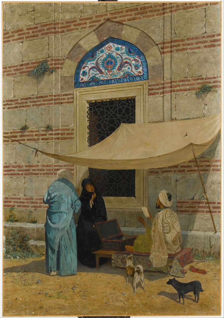 Osman Hamdi Bey - Arzuhalci , Public Scribe - Google Art Project.jpg