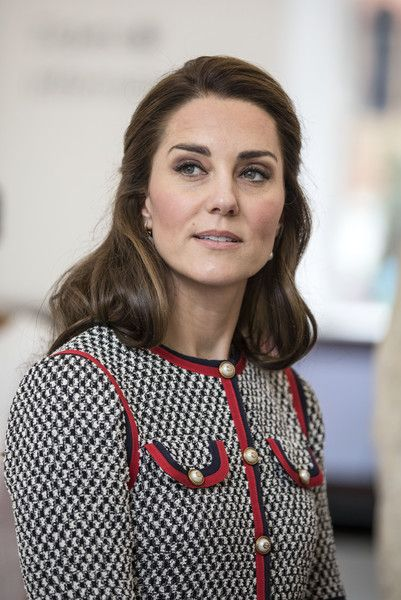 Kate Middleton Photos Photos - Britain's Catherine, Duchess of Cambridge is pictured during her visit to open the new multi-million pound extension at the V&A Museum in London on June 29, 2017. / AFP PHOTO / POOL / RICHARD POHLE - The Duchess Of Cambridge Visits The New V&A Exhibition Road Quarter