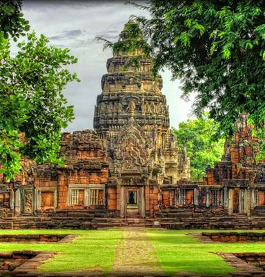 Chiso Temple, Prasat Neang Khmau, Cambodia