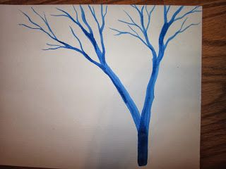 ceruleanJAY: How to Paint a Tree