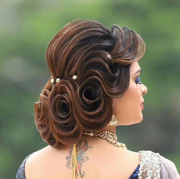 Latest Bridal Bun Design Hair Styles New Bridal Hairstyle Bridal Hair Buns