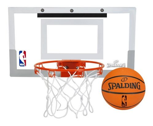 Up to 60% Off Spalding Basketballs and Hoops ~ Over-The-Door Mini Basketball Hoop $16.98 - http://www.swaggrabber.com/?p=314506