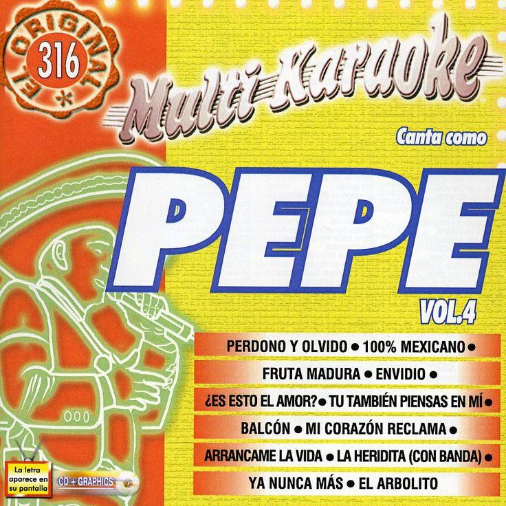 Pepe Aguilar - Vol. 4-Exitos-Multi Karaoke