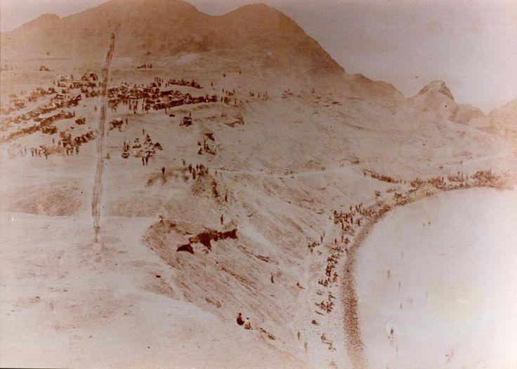Desembarco chileno en Curayaco, Perú, durante la Guerra del Pacífico
