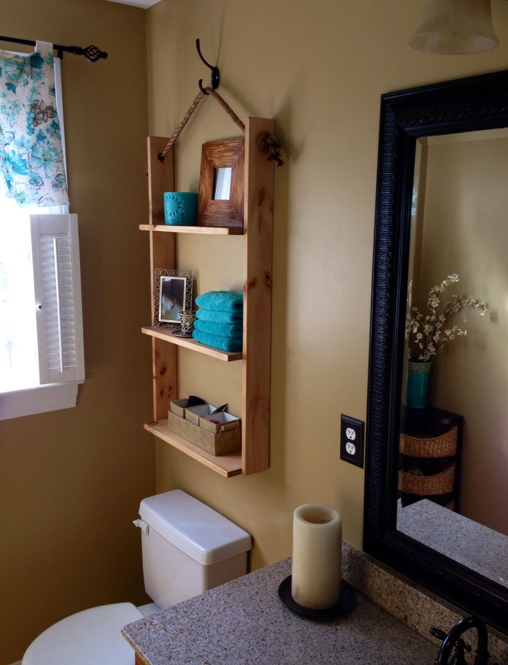 Best Small Bathroom Images On Pinterest Small Bathroom DIY - Bathroom hanging storage for small bathroom ideas
