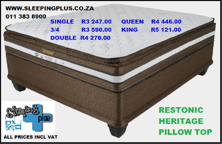 Bonnel spring, airzone foam, wool fibre, side support, marvelous middle, pillow top and never turn mattress.