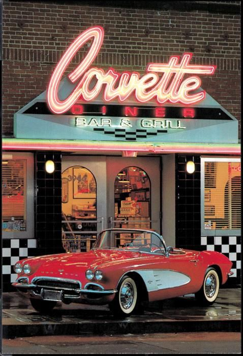The Corvette Diner is the best place to take the family while in San Diego, CA.  Fun for the whole family.