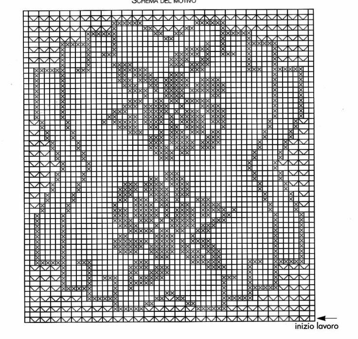 785 best napperon images on Pinterest Crochet patterns, Place - print graph paper word