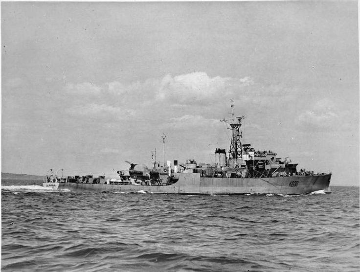 HMS Cardigan Bay (K630) 1944, was a Bay-class anti-aircraft frigate of the British Royal Navy, named after Cardigan Bay, off the coast of Ceredigion, Wales.