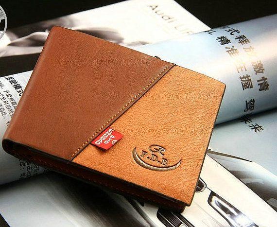 wallet leather wallet  men wallets  mens leather wallet brown leather wallet mens wallets
