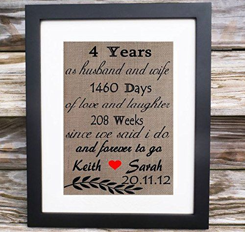 4 Year Wedding Anniversary Traditional Gift: Best 25+ 4th Wedding Anniversary Gift Ideas On Pinterest