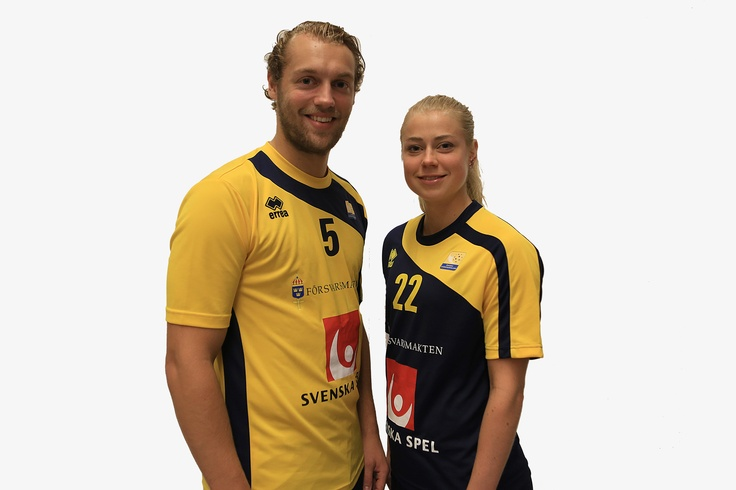 The new match uniform for the swedish national floorball team. Not sure if I like it yet. To dark blue and looks like an ordinary t-shirt. But otherwise it's ok. - RJ