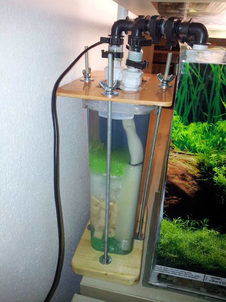 105 best images about fish tank on pinterest aquarium for How to make a fish tank filter