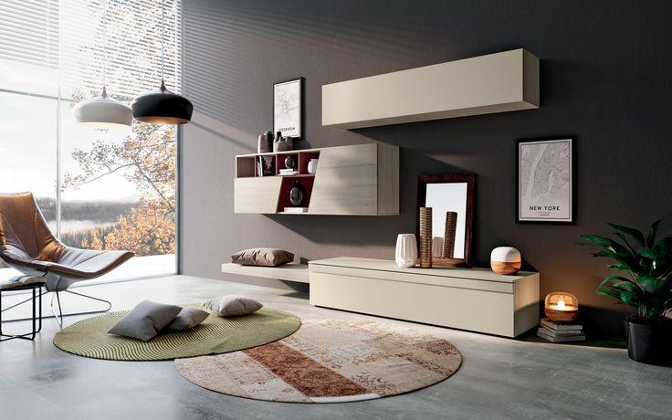 Soggiorno skema ~ Soggiorno c sala tv units living rooms and room