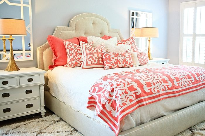 Girls With Coral And Aqua Related For Turquoise And Coral Bedding