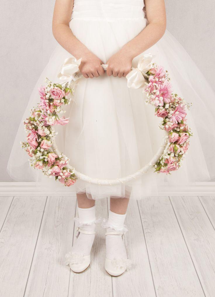 Vintage Affair  Flower Girl Hoop  Wedding Planner in