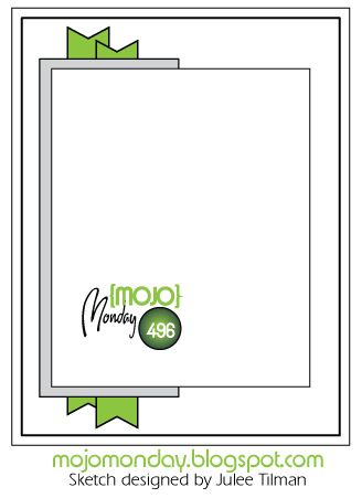 Happy hello and welcome to the mojo Monday blog, we have another super amazing sketch for you this week. Julee  has created the sketch an...