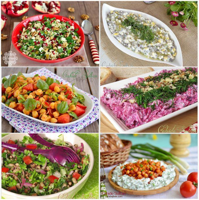 Hem doyurucu, hem sağlıklı diyet salatalarımızdan sizler için derledim. Her biri ekmeksiz yenebilir ve her biri bir öğün savabilir. NARLI BULGUR SALATASI Yoğurtlu Yeşil Mercimek Salatası Semizotlu …
