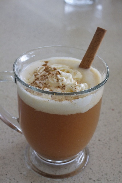... whipped cream and cinnamon, garnish with cinnamon stick. Add 1 oz of