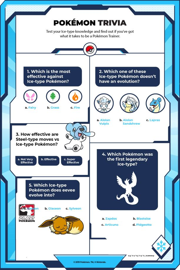 How much do you know about Ice-type Pokémon? Pokemon Facts, Type Pokemon, Play Pokemon, Trivia, Did You Know, Evolution, Iphone Wallpaper, Pikachu, It Works