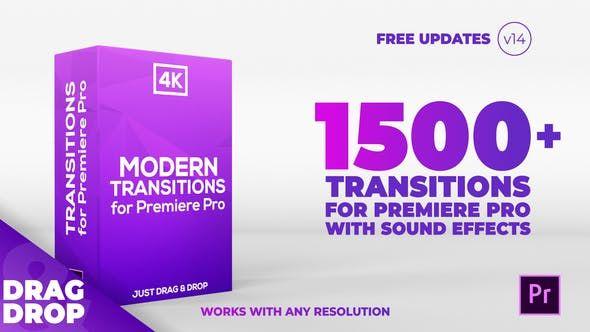 Modern Transitions For Premiere Pro Von Candymustache Auf Envato Elements In 2020 Glitch Vorlagen Anleitungen