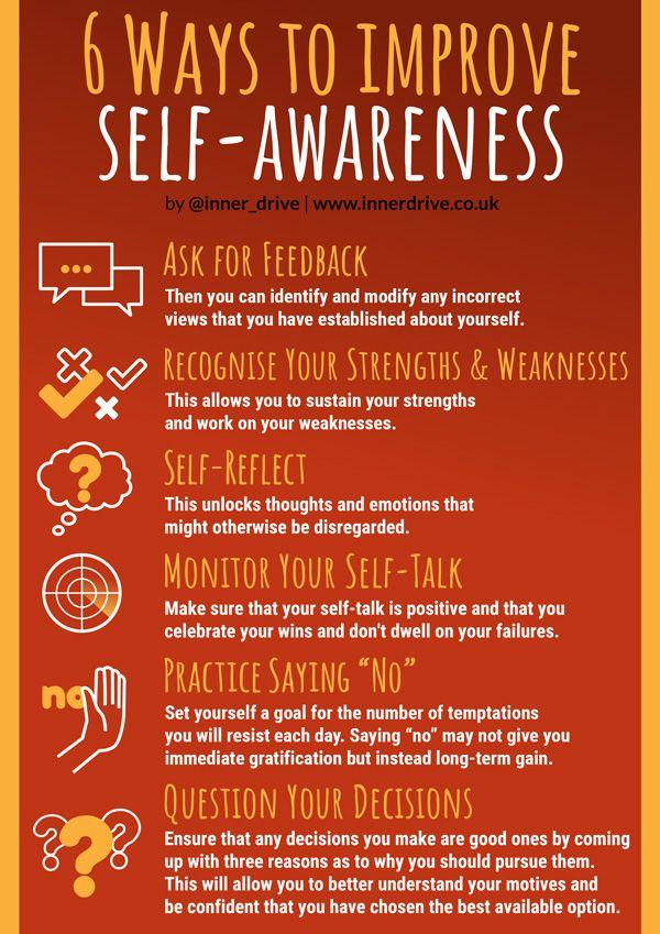 6 Ways To Improve Self Awareness With Images Self Awareness