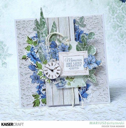 Wandering Ivy- card by Mariusz Gierszewski - Kaisercraft Official Blog