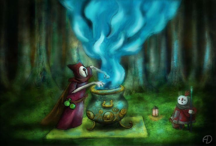 The Magician by zoraor.deviantart.com on @deviantART