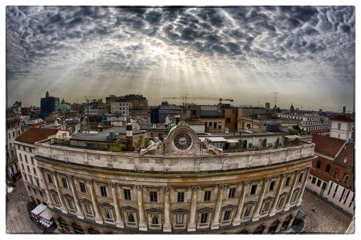 """500px / Photo """"Good morning Milano ..... !"""" by Davide Photographer www.tourismando.it for your vacations!!"""