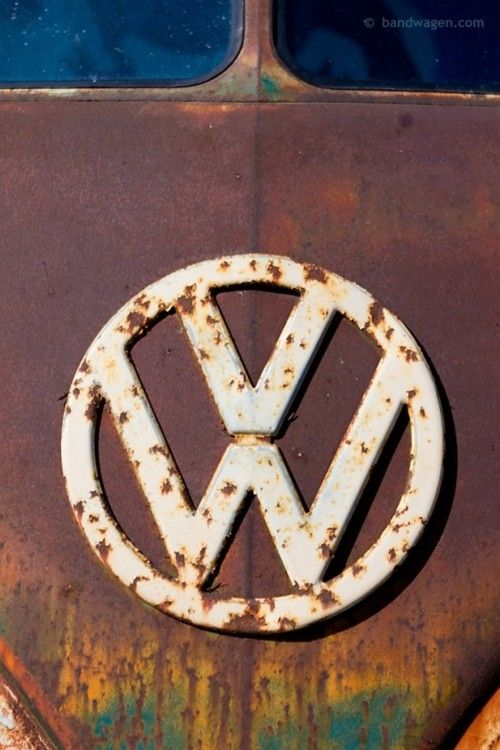 VW Kombi - rusted beauty