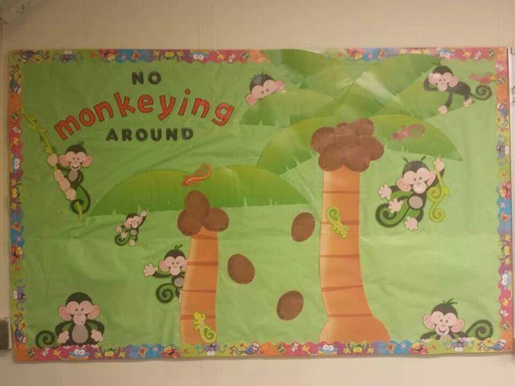1000+ ideas about Monkey Bulletin Boards on Pinterest | Jungle ...