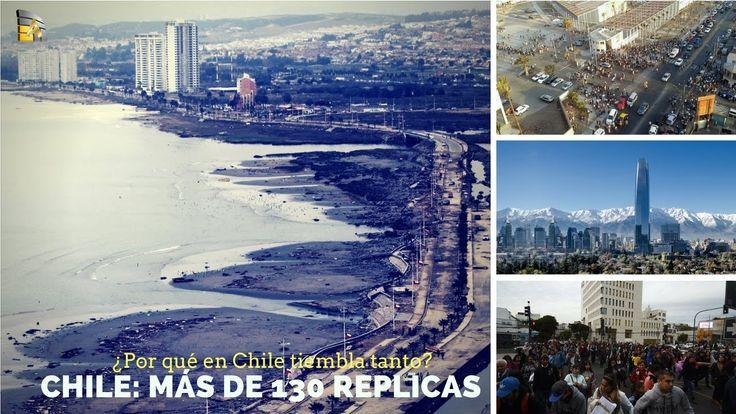 Chile: Siguen los sismos más de 130 réplicas ¿Por qué en Chile tiembla tanto? https://youtu.be/QuJAIuG0YM4 via @YouTube