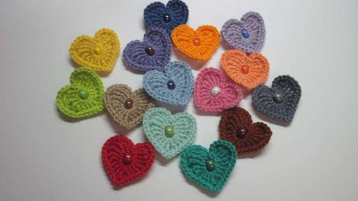 Faça Simples Corações de crochê - Faça Você Mesmo Artesanato - Guidecentral