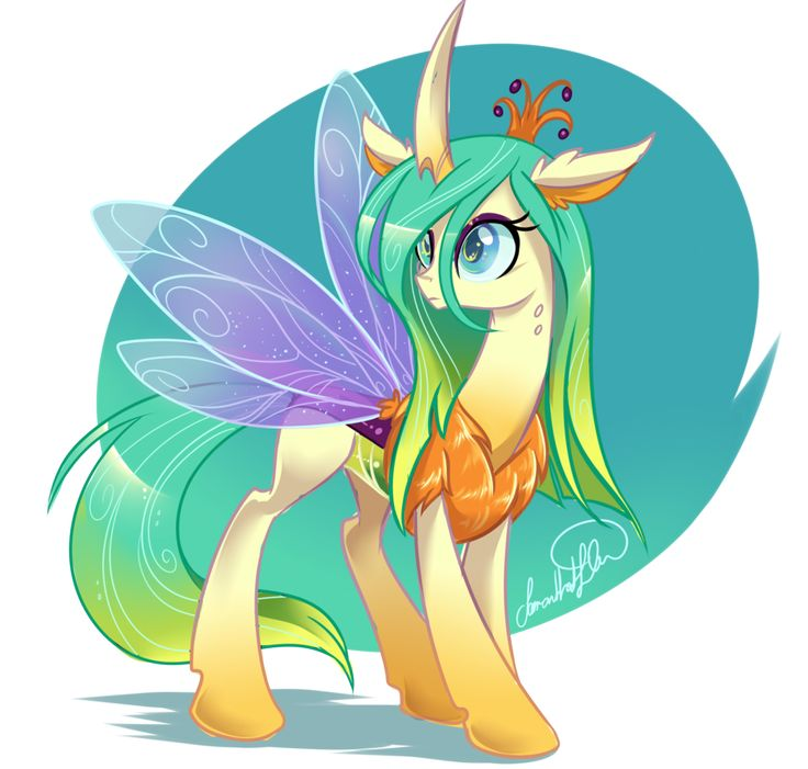 """That actually looks kinda cute"" Reformed Chrysalis by JaDeDJynX on DeviantArt"