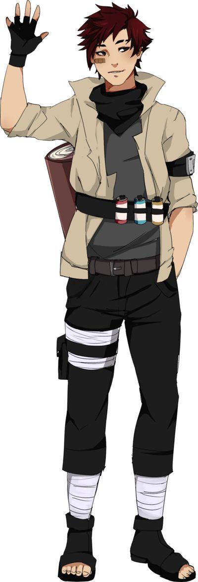 Naruto OC: Shirou Heiki by seethli.deviantart.com on @DeviantArt
