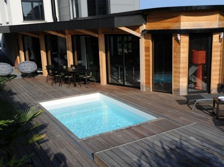Cómo construir una cubierta móvil para la piscina- posición 1