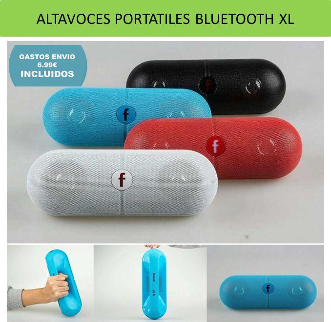 Accesorios para moviles y Smartphone. Altavoces portatiles bluetooth inalambricos ¡Sin cables! Lo mejor de la electronica y gadgets de tecnologia.