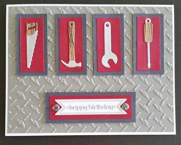 891 best cards male images on pinterest masculine cards mens birthday card i made for my husband die namics tool charms die sizzix bookmarktalkfo Images