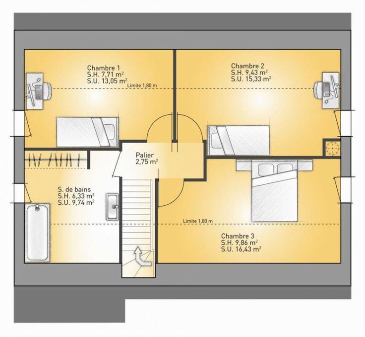 Maison Modulaire Ecologique RT 2012 ! Divers Pinterest - plan maison france confort