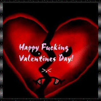 anti valentines day facebook pinterest myspace comments glitters quotes images gif - Hate Valentines Day Quotes