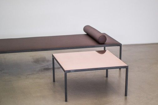 furniture copper leather oak steel danish design berlin furniture