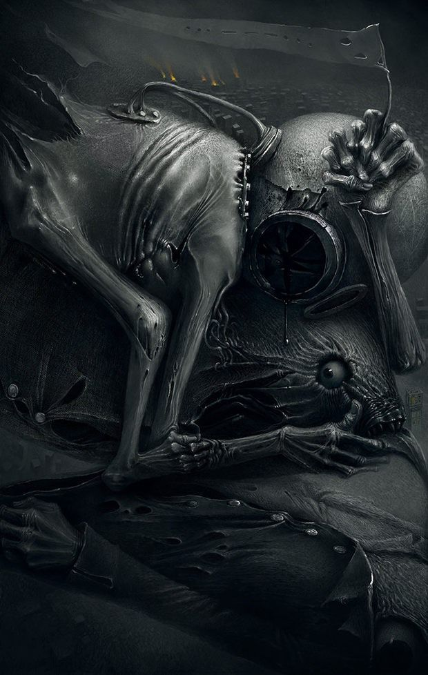Creepy Art by Kumpan Alexandr