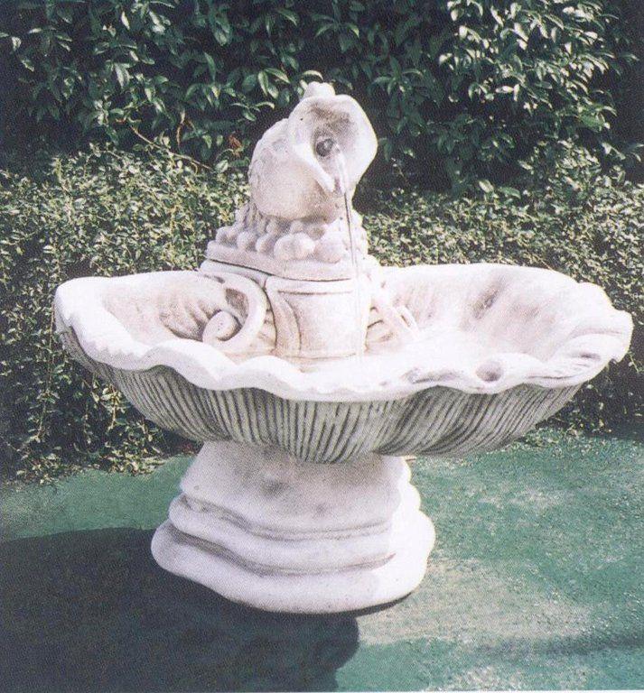 Fontana con Anfora in cemento - Cm 73x73x70H - arredogiardini.it