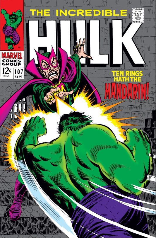 99 best my silver age comics collection images on pinterest the incredible hulk ten rings hath the mandarin issue fandeluxe Image collections