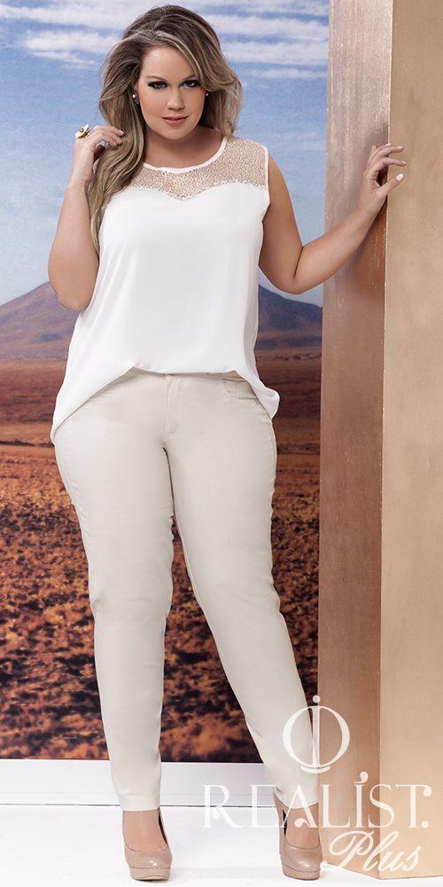 Realist Plus Size. Look da coleção Verão 2014/15. Look para reveillon…