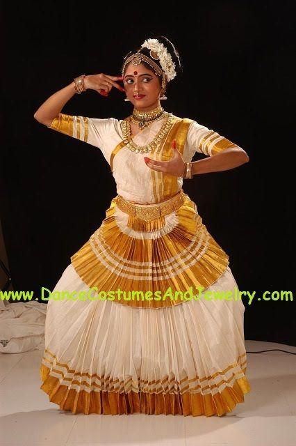 42de0972c047 Mohiniyattam dance costume Custom Stitched in 2019 | Mohiniyattam dance  costumes | Dance costumes, Indian classical dance, Dance
