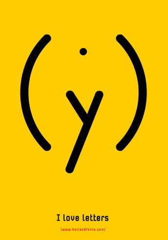 Source: http://tech.ddvip.com/design/ This is a graphic design work by Max Kisman. I like the way he created such an expressive image using only punctuation marks and one letter.